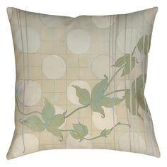 Summer Vine 2 Printed Throw Pillow