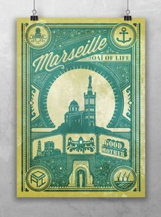 "Affiche Marseille Oaï of life et sa ""Good Mother"" - www.goodmorningsouth.com"