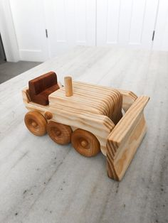 Wood Toys Plans, Wooden Toys, Hardwood, Projects To Try, It Is Finished, Age 3, Mineral Oil, Cool Stuff, Blade