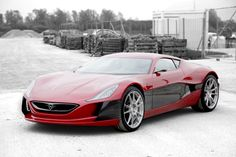 The nearly $1,00,000 Rimac Concept One luxury electric sports car turns up in Monaco with sleek tires and taking reservations for only 88 souls with very deep wallets.