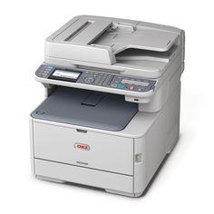 Ein Farblaser Multifunktionsdrucker der Firma Oki