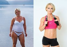 By coupling her gym efforts with a positive attitude, Christine Case dropped 55 pounds.