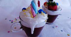 Chocolate caliente con chantillí