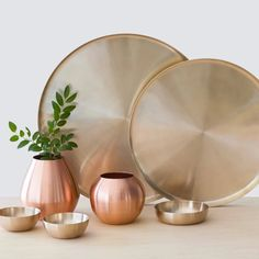 We partner with artisans to create modern goods for the well-traveled home. Bud Vases, Flower Vases, Flowers, Essential Oil Distiller, How To Make Oil, Parts Of A Plant, Simple Furniture, Copper Color, Pure Essential Oils
