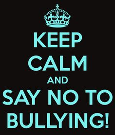I want to be able to speak about my bullying situation freely and help people going through it.