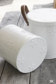 ☆ Bastion Collections Winter 2015- Cute barrel storage containers.