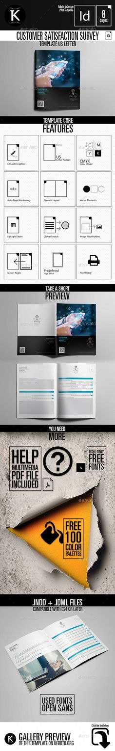 Client Satisfaction Survey Template Client, Creativemarket and - customer satisfaction survey template