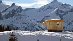 Primera fondueland de Gstaad, instalada la pasada temporada