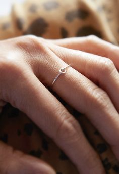 tiny knot ring.