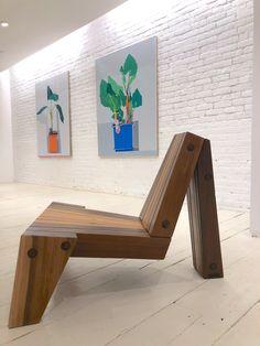 Enrico chair designed by Zanini de Zanine available at ESPASSO. Limited edition.
