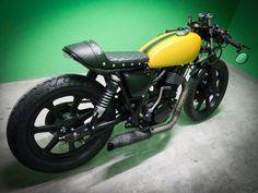 Yamaha SR500 Cafe' Racer - Complete #CafeRacersSA #caferacer #cafebuild #yamaha #sr500 #singlecylinder #thumper #custom