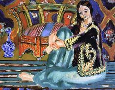 Odalisque, by Henri Matisse (French, 1869–1954).