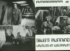 Black and white publicity photo, for the 1972 motion picture, SILENT RUNNING.