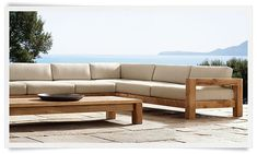 Restoration Hardware is the world's leading luxury home furnishings purveyor… Outside Furniture, Diy Outdoor Furniture, Deck Furniture, Bedroom Furniture Sets, Rustic Furniture, Furniture Design, Restoration Hardware Outdoor Furniture, Bedroom Sets, Chair Design