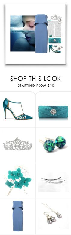 """Elegant Dress"" by treasury ❤ liked on Polyvore featuring Angelo, SJP and Likely"