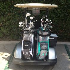 Park Hyatt Aviara Resort - Carlsbad, CA, United States. His & Hers full set of complimentary clubs ooh & there's agua in the coolers too. Good times with good people