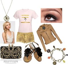 """""""The Hunger Games Outfit #2"""" by cmactress on Polyvore"""