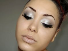 This is my french video on my grey makeup. I hope you like it. link: http://www.youtube.com/watch?v=8_zG5LFlqdg