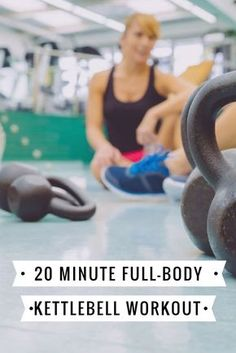 Burn 400 calories in 20 minutes with this kettlebell workout