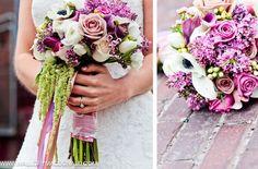 bridal bouquet done by Kaleb Norman James Design [kalebnormanjames.com]