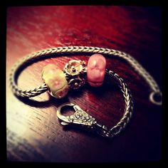 I'm giving away this beautiful Trollbeads collection on my blog today which includes a bracelet, lace clasp and three beads! It's all part of an Eight Day Pinterest Party! Hope you'll join in on the fun! http://www.inspiredbycharm.com/2012/05/enjoying-sun-giveaway-day-seven.html