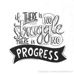 Handlettering, I think Frederick Douglass said this. Hand Lettering Quotes, Calligraphy Quotes, Calligraphy Letters, Typography Quotes, Brush Lettering, Lettering Design, Fonts Quotes, Doodle Quotes, Art Quotes