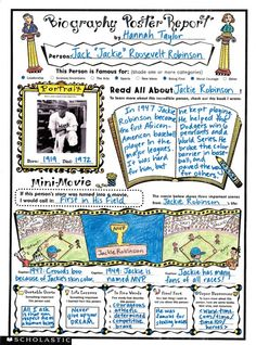 biography poster reports