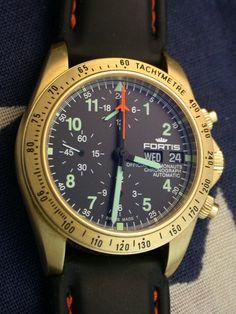 Fortis gold chrono cosmonaut
