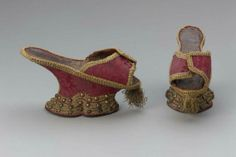 Pair of chopines  Italian (Venice), about 1700