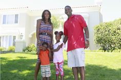 Our stylish friend and favorite female athlete, Lisa Leslie wearing TYSA with her family on Celebrity Wife Swap!