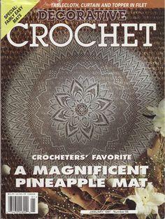 Ravelry: Decorative Crochet Magazine, January 1997, #55