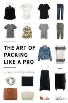 Does packing feel like a daunting process? Lets change that with this helpful guide to packing more efficiently. /