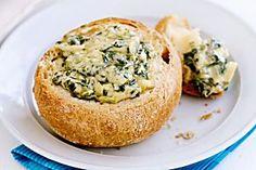 Cob loaf spinach dip Recipe - Taste.com.au Mobile
