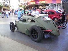 Special cars: Volkswagen Beetle / Bug Military Rat Rod