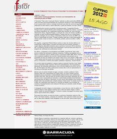 """::Jornal Fator::  """"Tudo Sobre Construção Náutica"""" dá início aos treinamentos de capacitação pela ACOBAR  Acesse o link da matéria http://www.revistafator.com.br/ver_noticia.php?not=213496"""