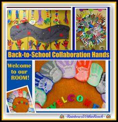 Back-to-School with Hands-Art! via RainbowsWithinReach