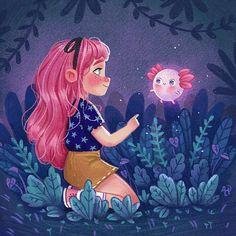 Entre o espaço e tempo: As ilustrações incríveis de Ana Paula Azevedo