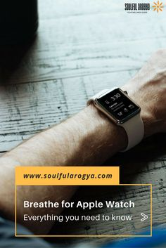 Breathe for Apple Watch: Everything You Need to Know About Apple's New Mindfulness App #BreatheApp #AppleWatch