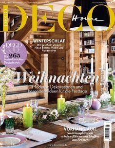 In dieser Ausgabe entdecken: Chalet-Style, Weihnachtsdeko, Schlafzimmerdeko und Betten, Vorhänge und wie man sie inszeniert, Schneereisen und coole Accessoires – wir freuen uns auf die kuschelige Jahreszeit!