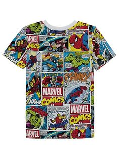 Marvel Avengers T-shirt, read reviews and buy online at George. Shop from our latest range in Kids. Make your little Marvel Comics fan's day, by adding this ...
