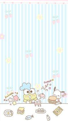 Beautiful Wallpapers For Iphone, Most Beautiful Wallpaper, More Wallpaper, Wallpaper Pictures, Cute Wallpapers, Iphone Wallpapers, Keroppi Wallpaper, Kawaii Wallpaper, Sanrio Danshi