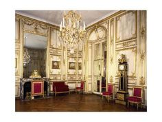 Louis XV's dining room, Palace of Versailles, France, century Palace Of Versailles France, Paris France, French Royalty, Palace Garden, French Architecture, French Chateau, Grand Hotel, 18th Century, Decoration