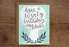 Birthday Dear Card | 1canoe2