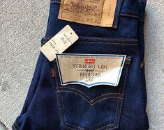 Levi Denim Jacket, Shirt Jacket, Denim Shirt, Vintage 70s, Vintage Items, Dragon Design, Red Dragon, Red Silk, White Denim