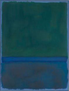 Mark Rothko, No. 17 (Greens and Blue on Blue), 1957