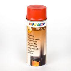 Pintura anticalórica Rojo - Espray de pintura anticalórica especial para resistir altas temperaturas. Perfecto para barbacoas, tubos de estufas, chimeneas, pantallas de lámparas, ... #MWMaterialsWorld #red #rojo #spray #manualidades