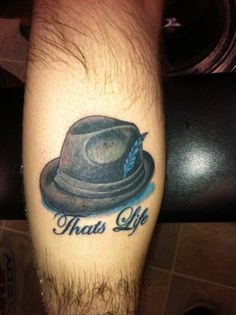 You HAVE TO love a Frank Sinatra tat!!!