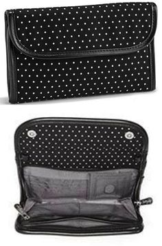 Thirty-One Gifts Every Wear Wallet $35 #ThirtyOneGifts #ThirtyOne #Wallets #PurseOrganizer #Monogramming