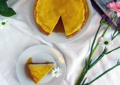 Mascarpone koláč so slaným karamelom
