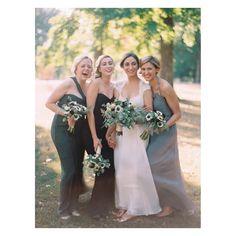 It's the truth 'happy girls are the prettiest girls.' - Audrey Hepburn  #fuji #contax645 #bridesmaids #audreyhepburn #wisewords #MoniqueLHuilleier by clarypfeiffer